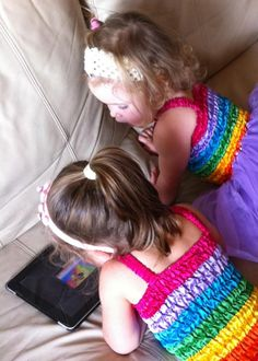 tips for ipad use for kids, and a list of good apps