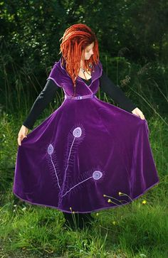 Gowns Pagan Wicca Witch:  Woodland #gown = what an amazing dress!