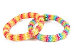 Rainbow loom hexafish rubber band bracelet!   http://youtu.be/Xk6QFST6aJM