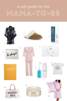 Pregnant mama gift guide