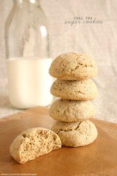 chai tea sugar cookies
