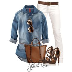 jean, cloth, style, fashion idea, denim shirts, outfit, white, closet, shoe