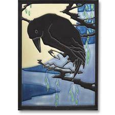 Raven by Motawi Tile