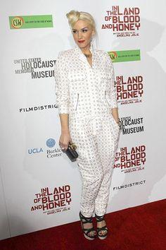 Angelina Jolie, Brad Pitt, Gwen Stefani at Blood and Honey premiere