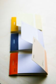 paintchip notepads