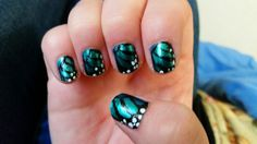 Nerd with Nails: Butterfly in the sky