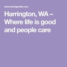 Harrington, WA – Whe