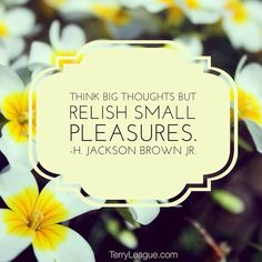 """Think big thoughts"