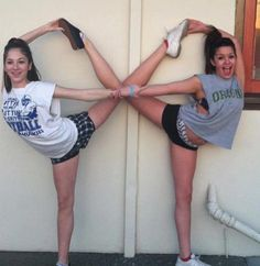 Scorpion @Sam Taylor Paniccia ...when I get it down perfect, we should take a pic like this :)