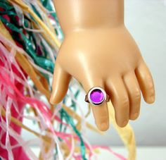 Make Your Doll a Fancy Ring - super easy!