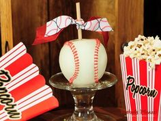 Home Run chocolate-covered apples