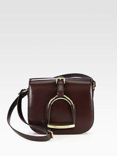 Ralph Lauren Collection Stirrup Shoulder Bag
