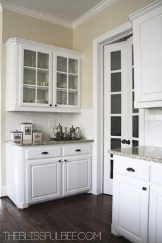 decor, pantri door, pantry doors, kitchen makeov, glass panel, kitchen redesign, hous project, kitchen remodel, glass cabinet