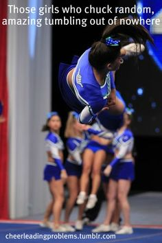 Ridiculously awesome tumbling passes