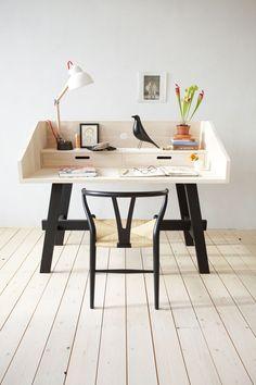 Loving the desk! Christien Starkenburg from Slowwood