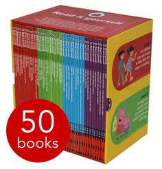 Ladybird Read It Yourself books can always be relied upon to give your child a solid grounding in reading and understanding stories and progressing this into confident independent reading.