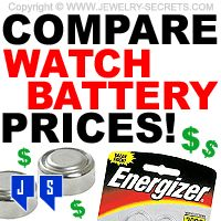 ► ► Compare Watch Battery Prices with leading Retail Stores!