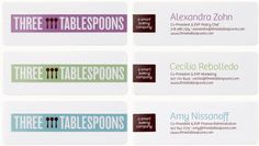 Three Tablespoons
