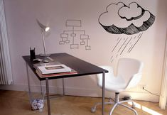 Love IdeaPaint! What could be better than a dry-erase board on an ENTIRE wall in the office or kitchen?