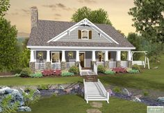 The Greystone Cottage House Plan