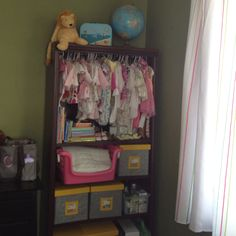 and lots of vintage and thrift store baby clothes! And liony lion