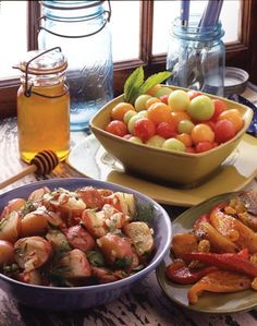 Red-Skin Potato Salad With Honey Dill Dressing