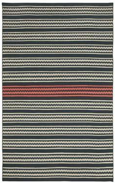Dokka Stripe rug in Kettle Blush! #CapelRugs