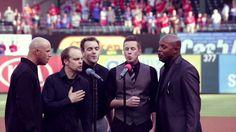 "Acappella ""National Anthem"" Texas Rangers"