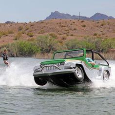 The World's Fastest Amphibious Car - Hammacher Schlemmer