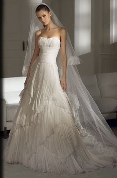 Empire Sweetheart Chapel Bridal Gowns - Bridal Gowns