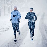 Awesome tips for running outside in the winter.