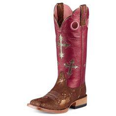 Womens Ariat  Boots  #10007676 via @Allens Boots