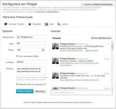 Twitter: Embedded Timelines – Neues Widget für Tweet-Streams einbinden (Quelle: Screenshot Twitter)