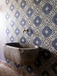 Moorish inspired tile.
