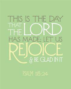 Psalm 118:24♡