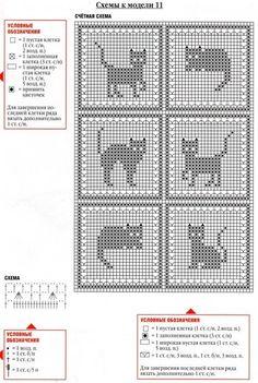 Filet crochet pattern free chart
