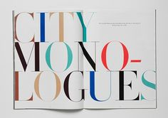 Neat typography... I want to read more!