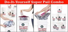 Package your favorite bulk foods in our Super Pail combos