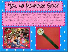 Yes/No Response Stick