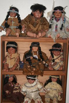 Native American Doll Collection.