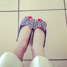 Primark bow wedges