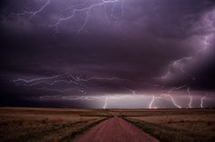 Electrical Illumination, Storm over Weld County, Colorado. (by Fort Photo)