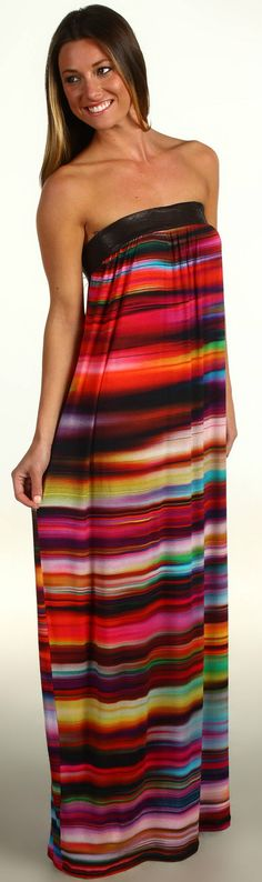 colorful summer maxi dress