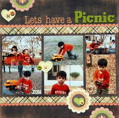 Lunetapatineta's Gallery: LETS HAVE A PICNIC. Love the layout