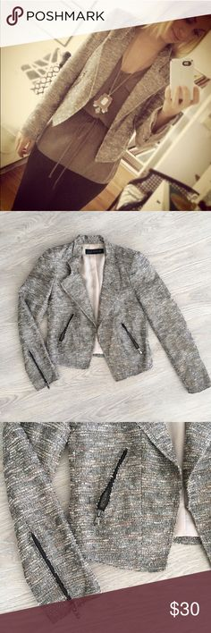 Silver Boucle croppe