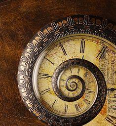 clock spiral; SO cool!