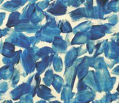 Navy blue art