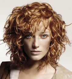 Trendy Short Curly Haircuts With Bangs