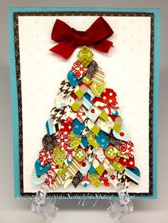 Christmas Punch Art Stampin' Up! Punches