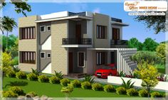 Modern Duplex House Design  Like, share, comment. click this link to view more details - http://www.apnaghar.co.in/search-results.aspx
